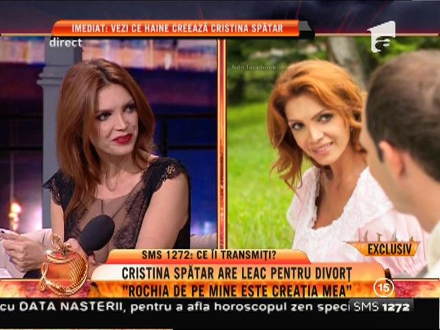 """Uite ce haine creează Cristina Spătar: """"Nu mă consider designer, ci o fată talentată"""""""