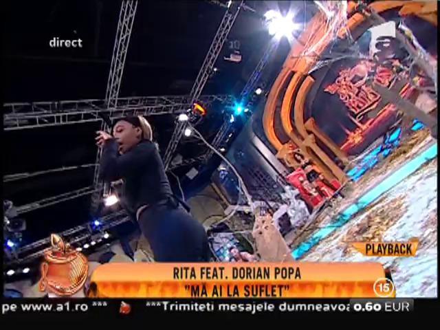 """Rita feat. Dorian Popa: """"Mă ai la suflet"""""""