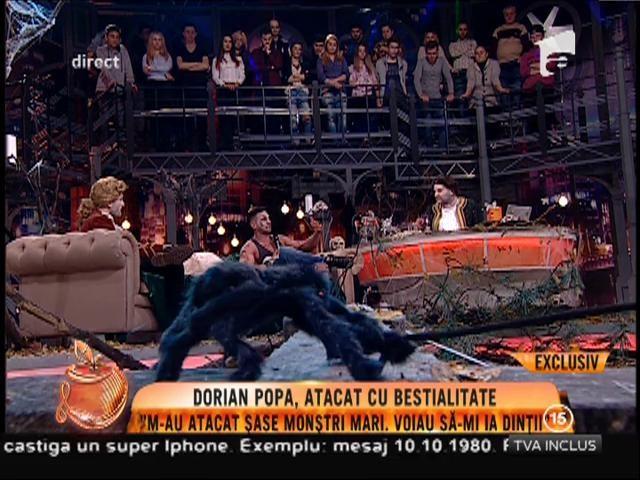 Dorian Popa a fost atacat cu bestialitate în noaptea de Halloween