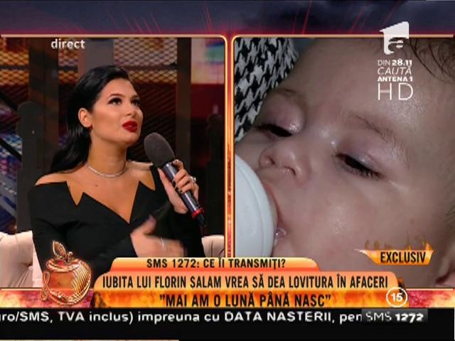 """Este însărcinată în luna a opta, dar muncește de zor! Roxana Dobre: """"Este posibil să nasc de Crăciun"""""""