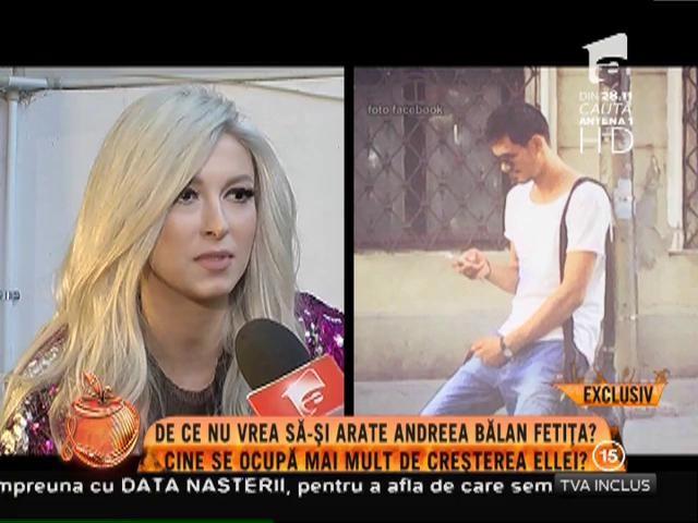 De ce nu vrea să-şi arate Andreea Bălan fetiţa!