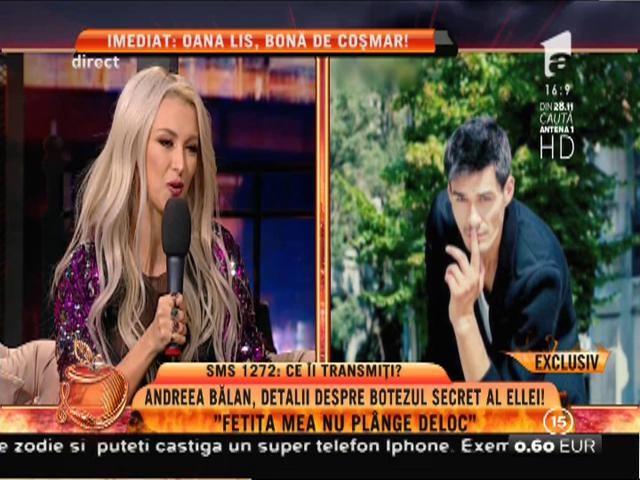 """Mămica Andreea Bălan: """"George îi face băiță Ellei, eu doar asist"""""""