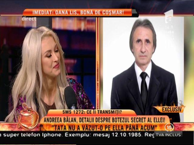 """Andreea Bălan: """"Tata nu a văzut-o pe Ella până acum"""""""