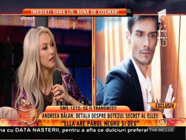 """Andreea Bălan: """"Mă bucur că fiica mea nu are nasul meu vechi!"""""""