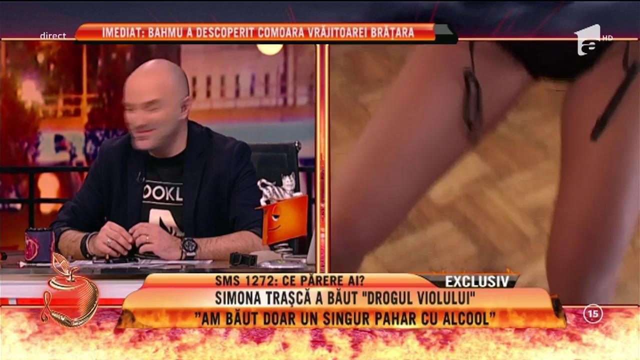"""Simona Traşcă a băut """"drogul violului""""!"""