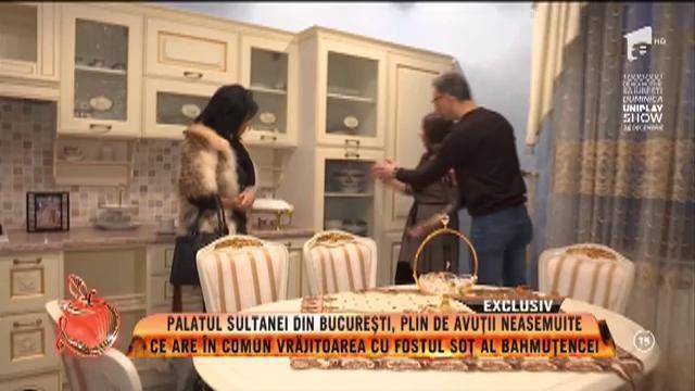 Palatul vrăjitoarei Sultana, din București, plin de avuții neasemuite