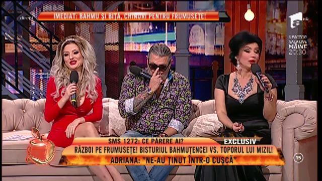 """Adriana Bahmuțeanu: """"Mi-am făcut injecții cu ozon în spate"""""""