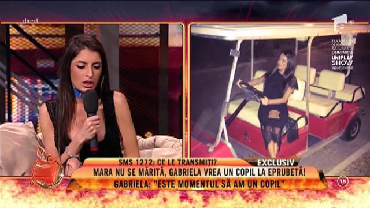 """Gabriela Cristoiu vrea un copil la eprubetă: """"Nu pot rămâne gravidă"""""""