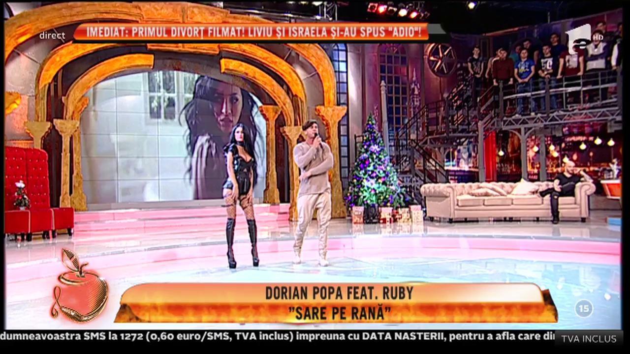 """Dorian Popa feat. Ruby - """"Sare pe rană"""""""