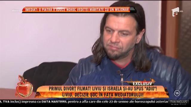 """Primul divorț filmat. Israela şi Liviu și-ai spus: """"Adio!"""""""