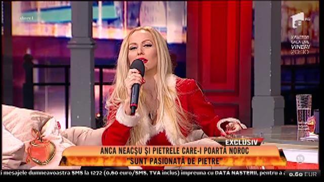 """Anca Neașcu și pietrele care-i poartă noroc: """"Nu las pe nimeni să le atingă"""""""