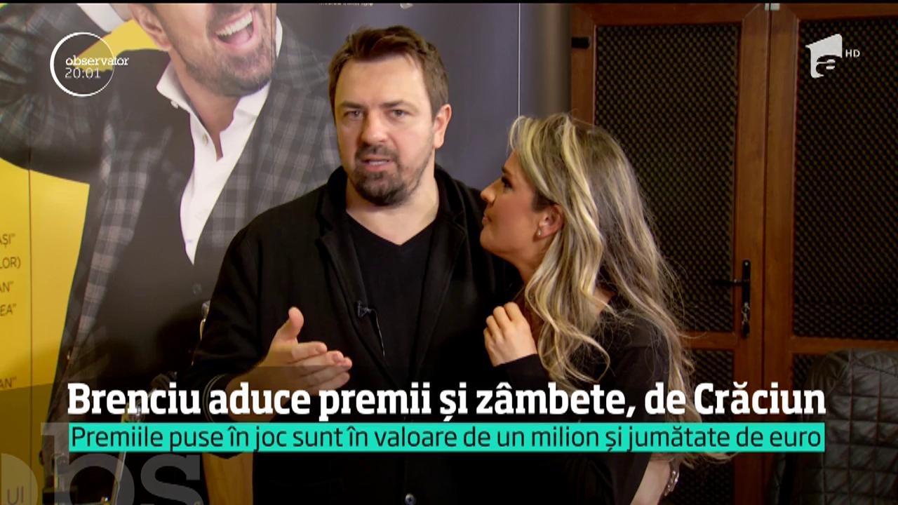 Horia Brenciu aduce premii și zâmbete! Îndrăgitul cântăreț va prezenta Uniplay Show, care va debuta la Antena 1, chiar în seara de Crăciun