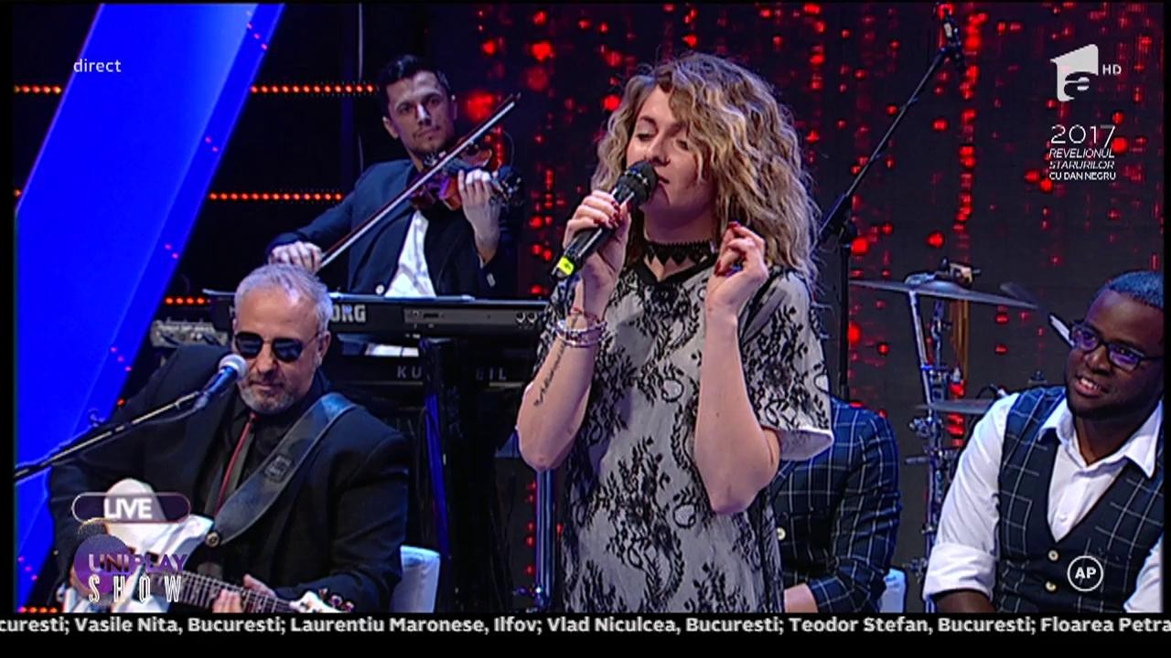 Piesa care i-a adus lacrimi lui Horia Brenciu! Raluka, interpretarea sensibilă de la Uniplay Show