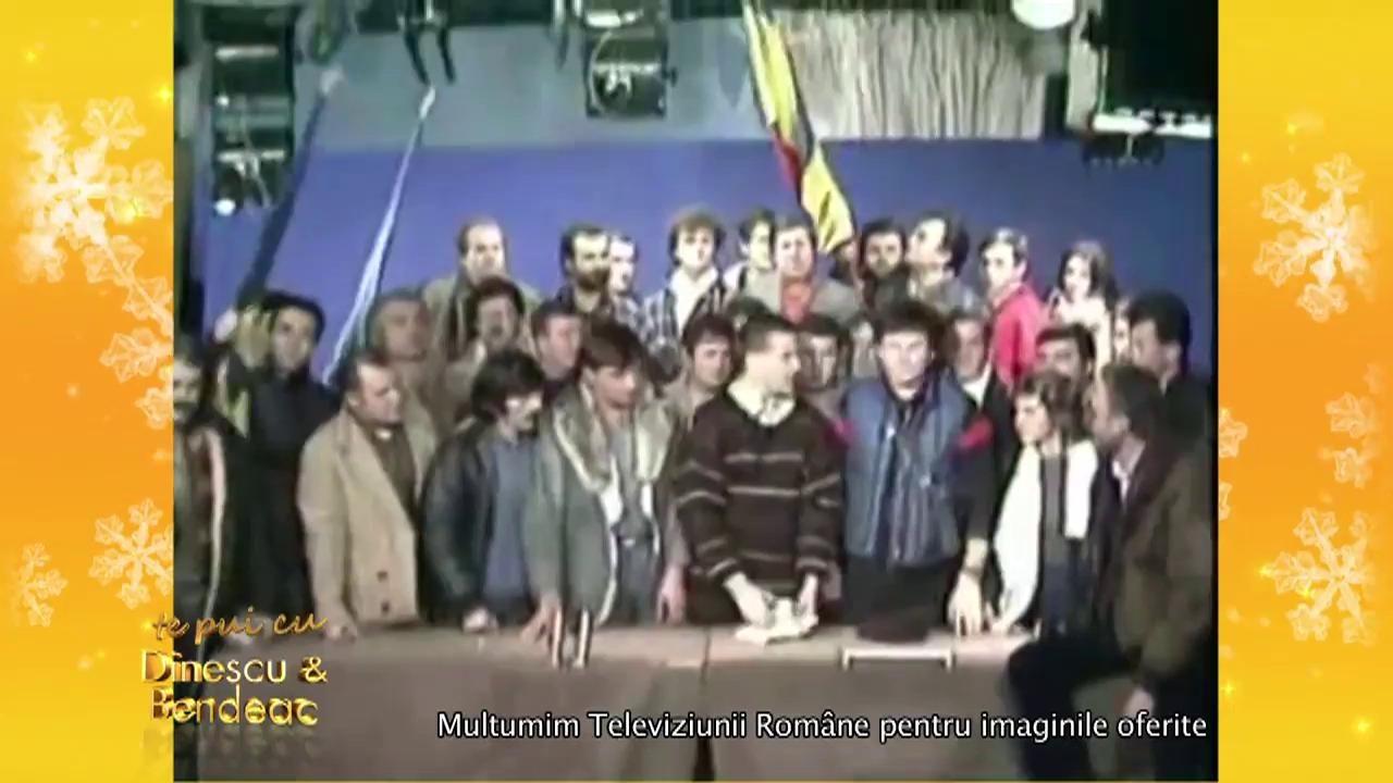 Amintiri din timpul Revoluției din 1989! Mircea Dinescu și Andrei Duban povestesc cum li s-au intersectat destinele