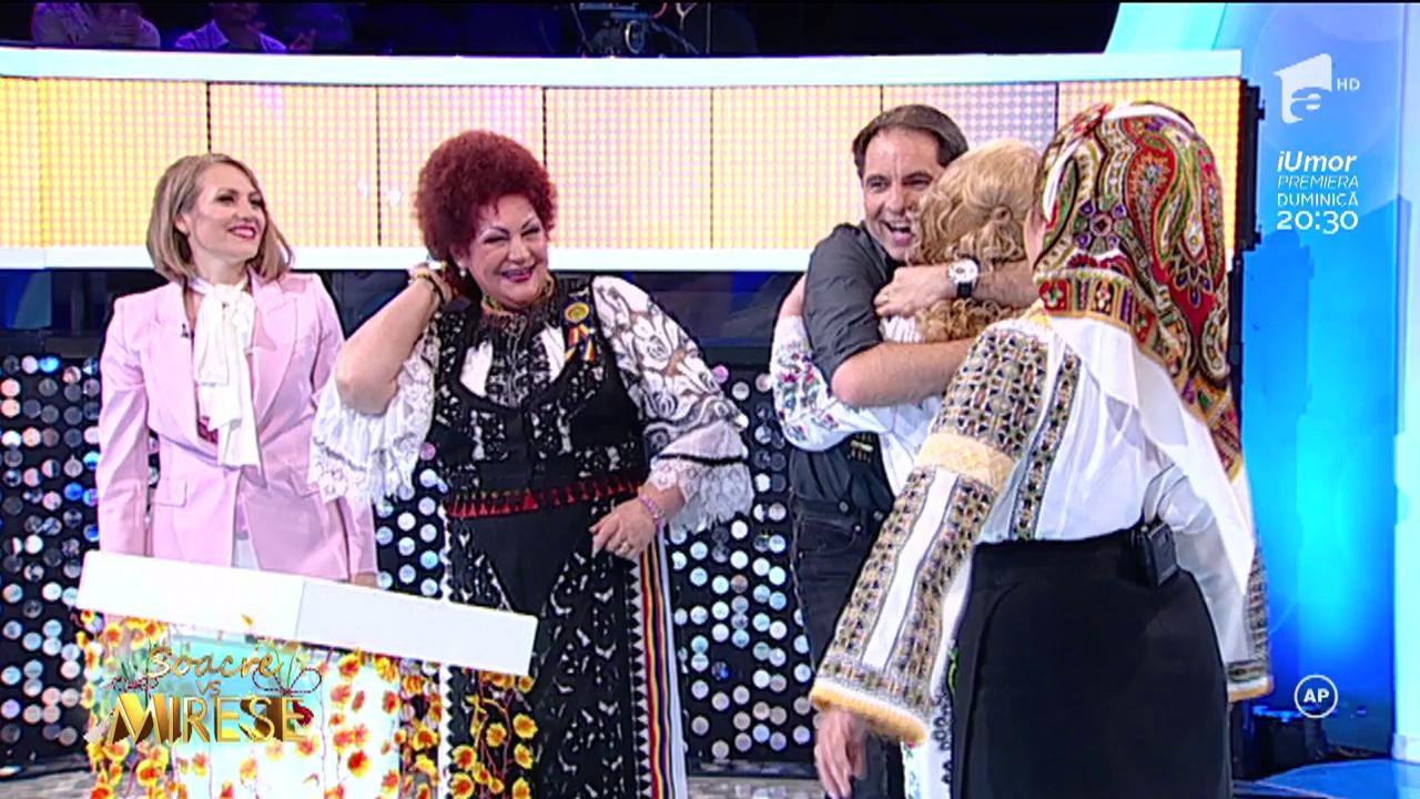 Maria Cârneci, Laura Lavric, Elena Merișoreanu și Mirela Vaida, pe aceeași scenă