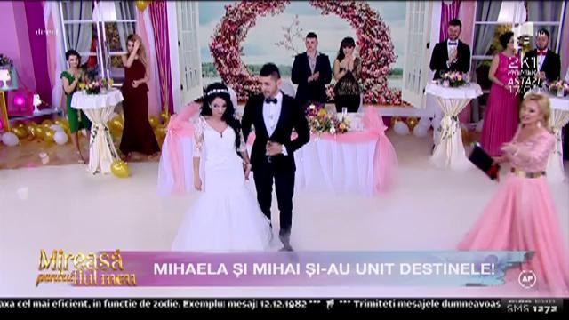 """Mihai și Mihaela de la """"Mireasă pentru fiul meu"""", dansul mirilor!"""