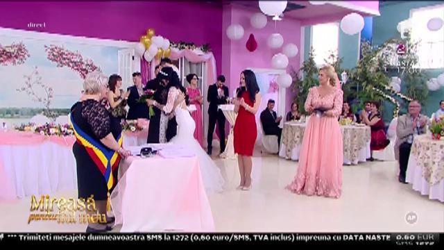 """Și-au spus """"DA!"""". Mihai și Mihaela s-au căsătorit!"""