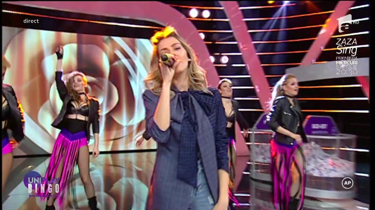 Lidia Buble, apariție de senzație la Uniplay!  Artista a atras privirile tuturor cu o ținută mai mult decât sexy!