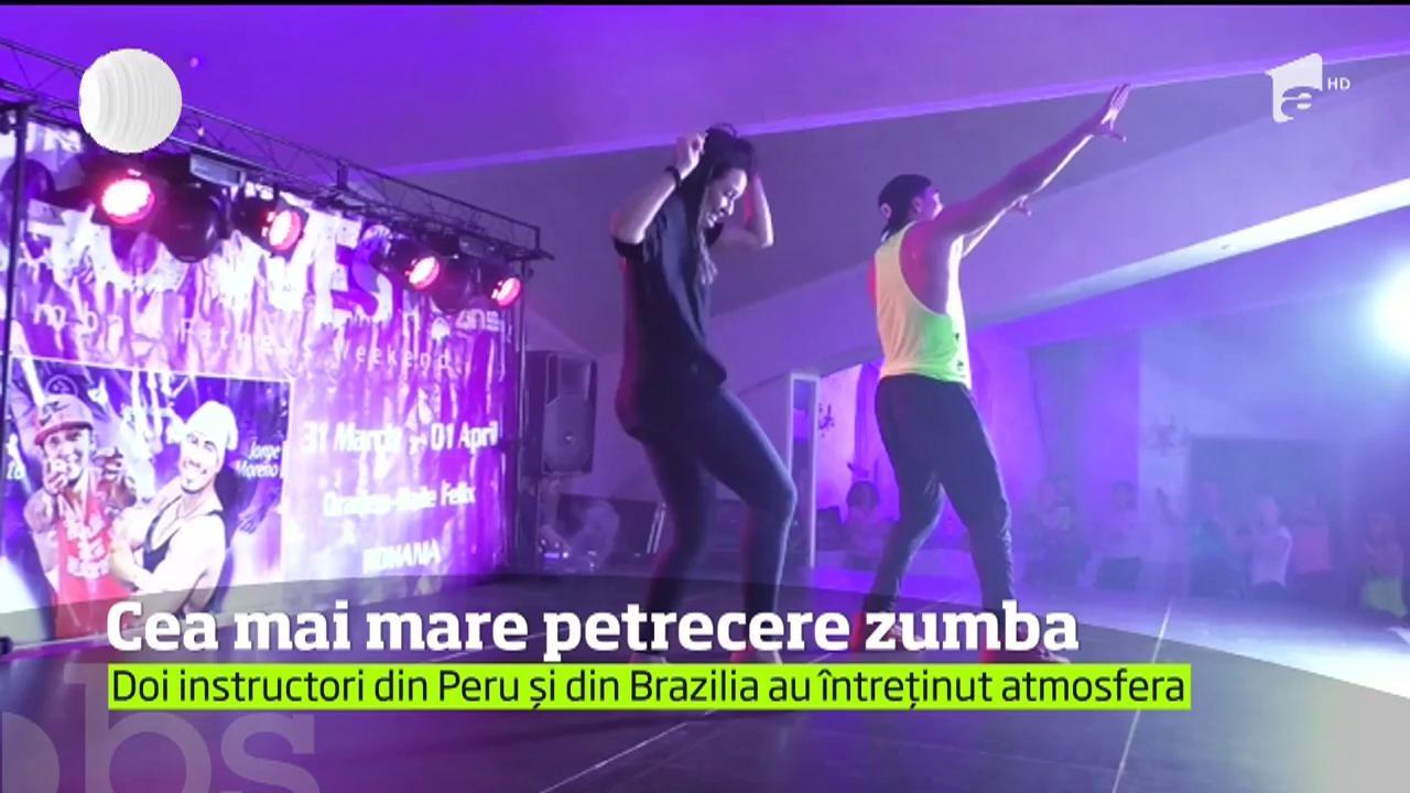 Zumba şi Petrecere La Băile Felix împătimiţii Dansurilor Pasionale