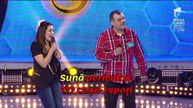 """Antren fără refren! Nico cântă piesa """"Sună periculos"""" a trupei ASIA"""