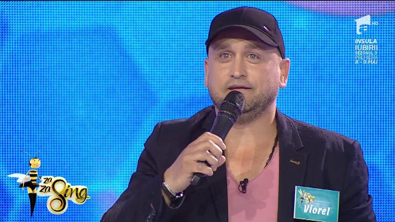 """Puiu Călinescu a sosit la Za Za Sing! Viorel, de profesie organizator de evenimente, cântă piesa """"Amândoi"""""""