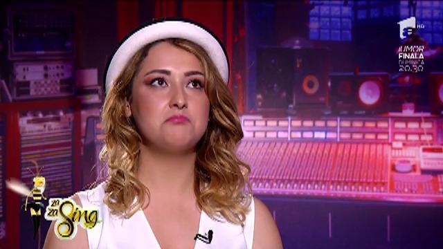 """""""Ghiceşte ce lipseşte"""". Alina Anca, studentă, vrea să îşi facă debutul în muzică"""