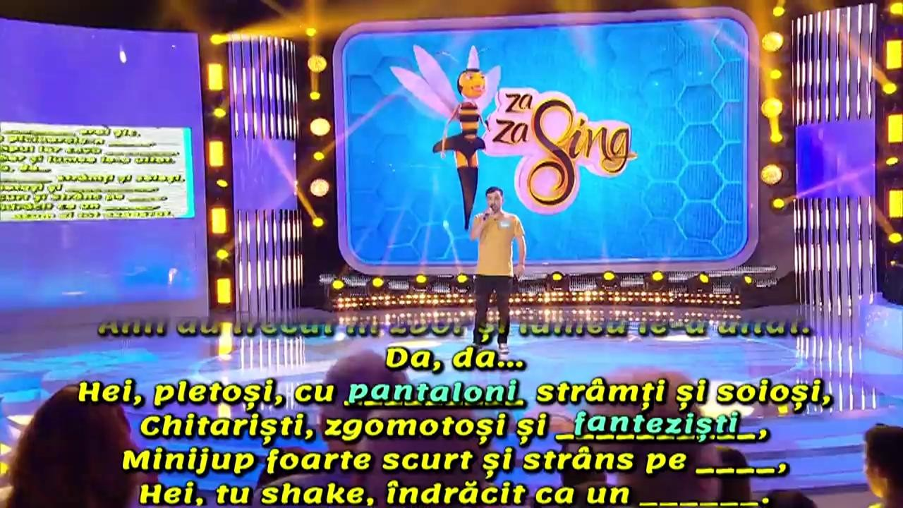 """Ghiceşte ce lipseşte"". Andrei Postolache cânta piesa ""Vremuri"" a trupei Phoenix"