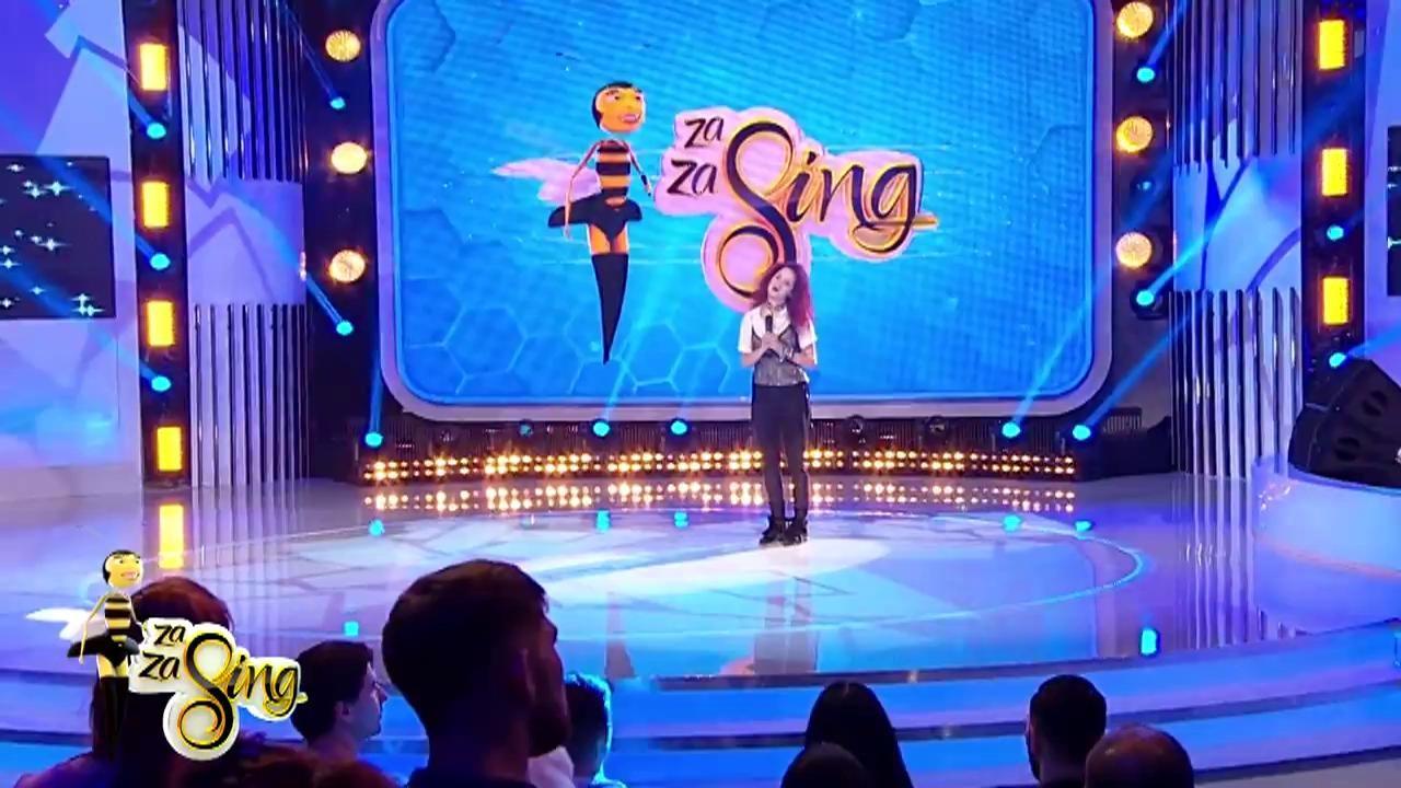 """""""Fredonează ce urmează"""": Cristiana cânta piesa """"Fată verde"""" a trupei Phoenix"""