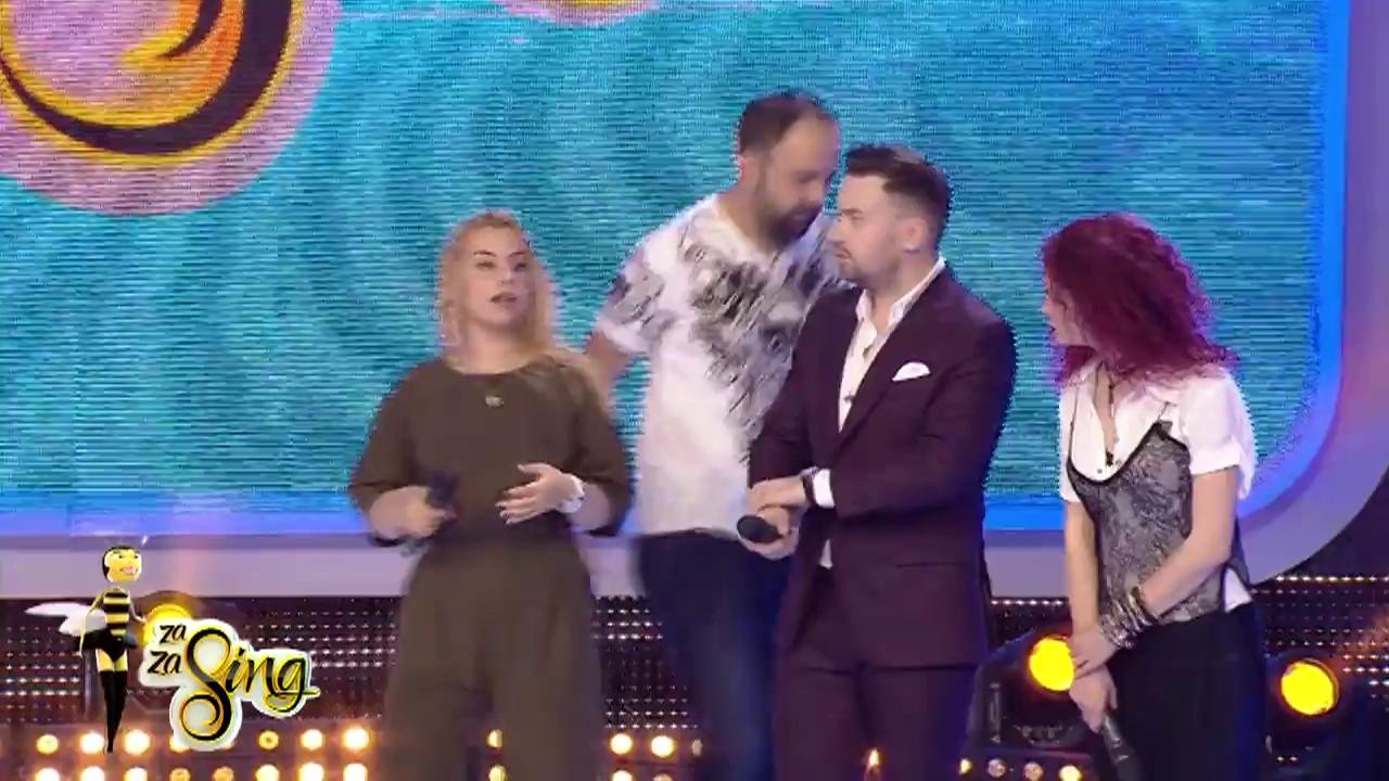 """""""Fredonează ce urmează"""": Alex cânta piesa """"Cântă cucu"""" interpretată de Andra"""