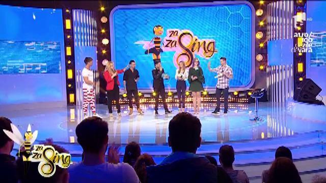 """Toți, Doamne, talentați, și toți trei! Dorian Popa, Paula Chirilă şi Daniel Max Dragomir au venit la """"Za Za Sing""""!"""