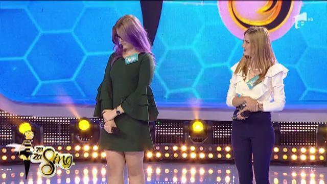 """Proba duel- """"Fredonează sau pasează"""". Roxana a câştigat trofeul şi luptă pentru marele premiu!"""