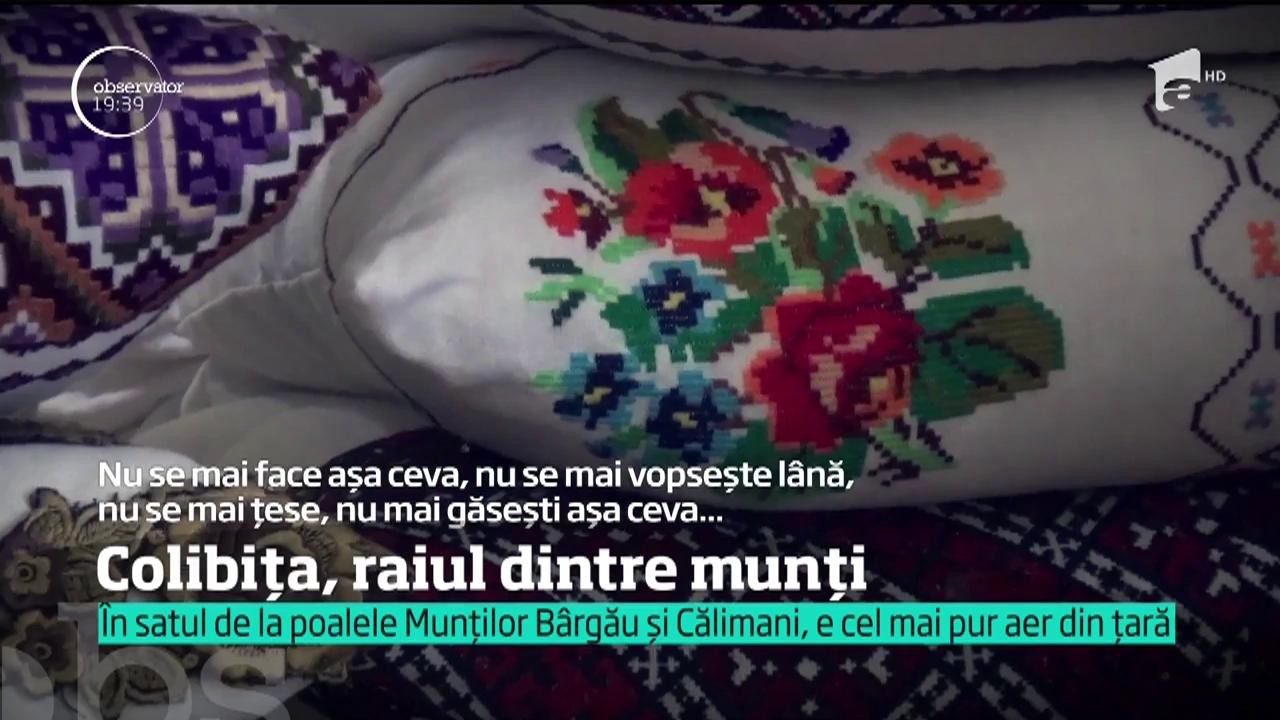 #100 de zile de vară! Peisaje care îţi tăie răsuflarea şi cel mai pur AER din România! Colibița, satul de la poalele Munților Bârgău și Călimani, o comoară ascunsă