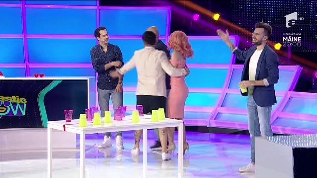 Proba de îndemânare. BIU vs. Andreea Bălan