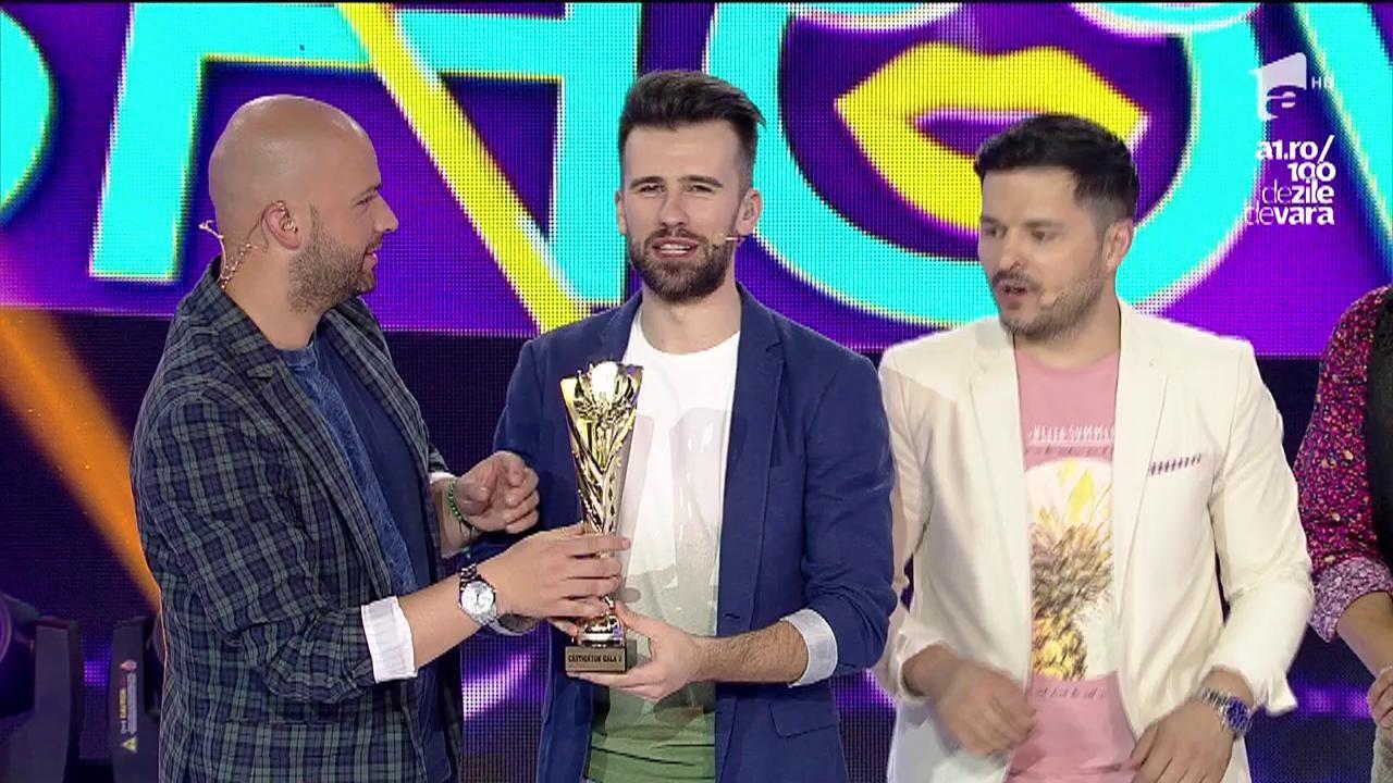 Echipa lu Liviu Vârciu a câştigat a doua ediție FANtastic Show!
