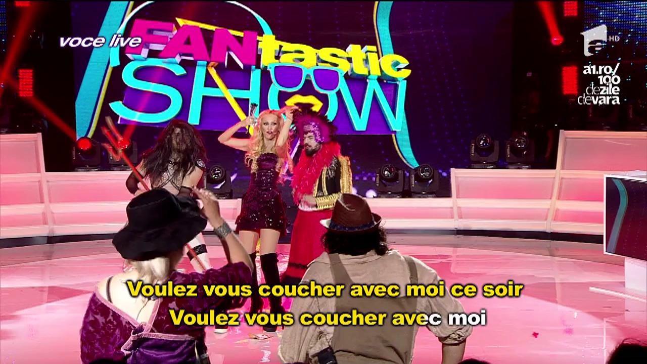 "FANtastic show: ""Ruleta imitatorilor"".Liviu, Anca Neacșu și Alex Florea -  Christina Aguilera -  Lady Marmalade"