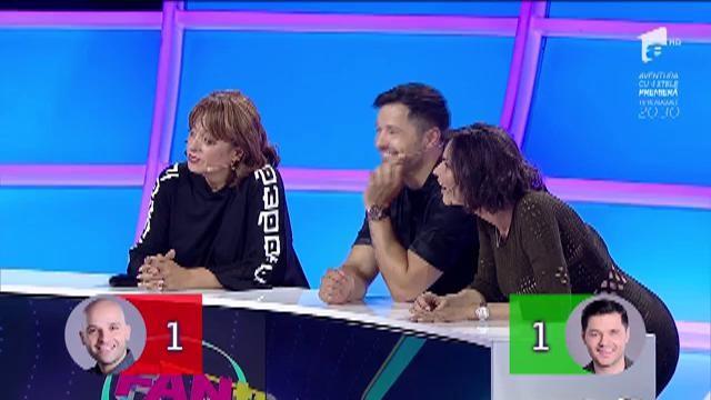 """FANtastic show: """"Recunoaşteţi melodia""""! Florența i-a pus din nou în dificultate pe concurenți"""