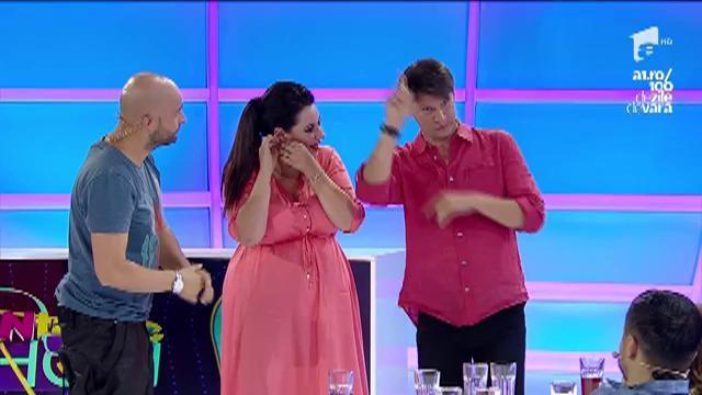 "Bianca Sârbu: ""Andrei, dacă bagi o melodie, mă dezbrac"""