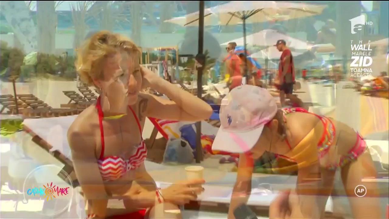 Dorian Popa, vânâtoare de fete care fac topless pe plajă!