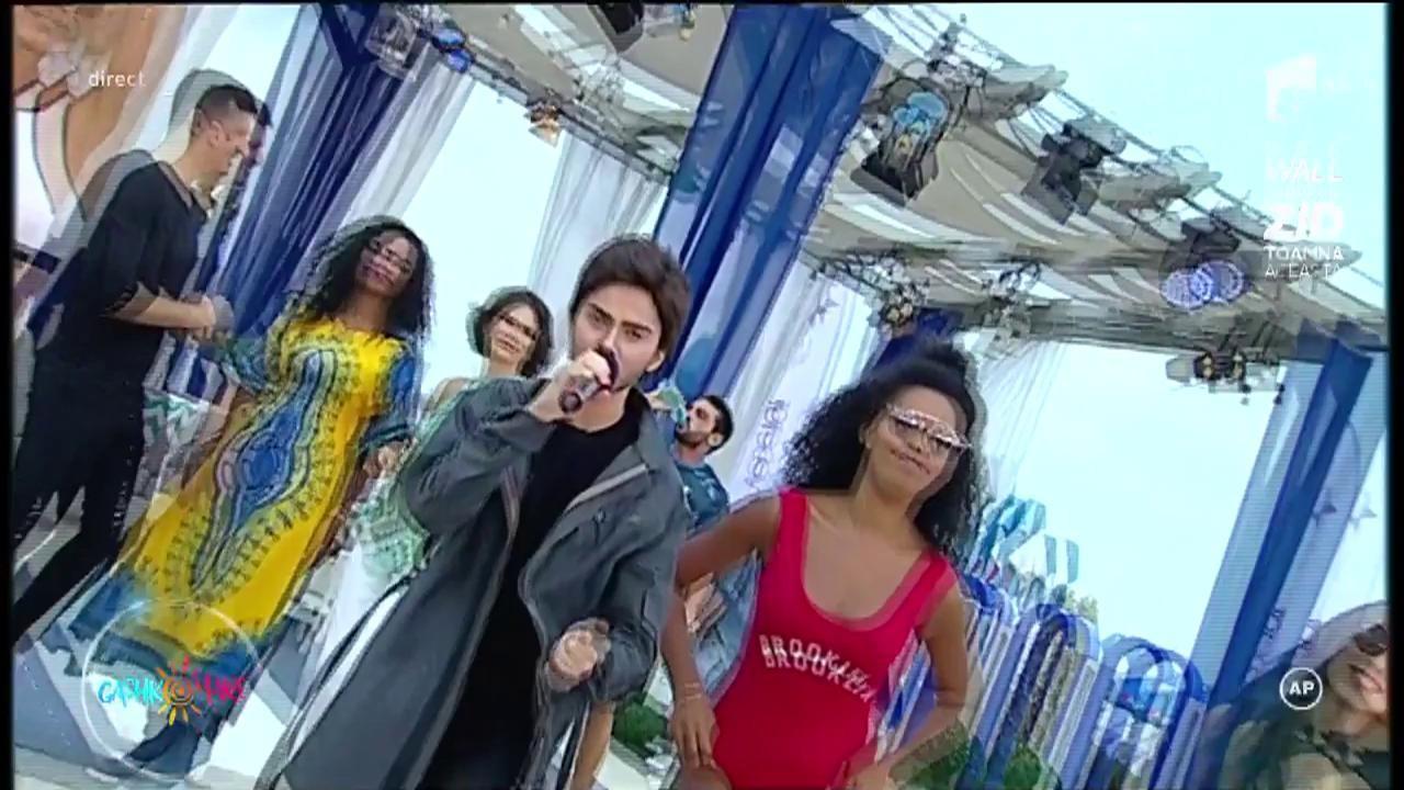 """J. Balvin - """"Ginza"""" răsună în toate radiourile!  Theo Rose, """"ROZA"""" muzicii ușoare românești, a făcut super-show!"""