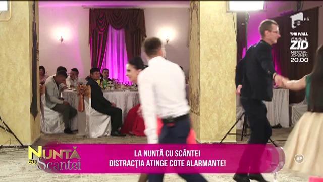 """""""Nuntă cu Scântei"""" și ritmuri de petrecere! Distracția s-a încins, iar invitații dansează cât îi țin picioarele"""