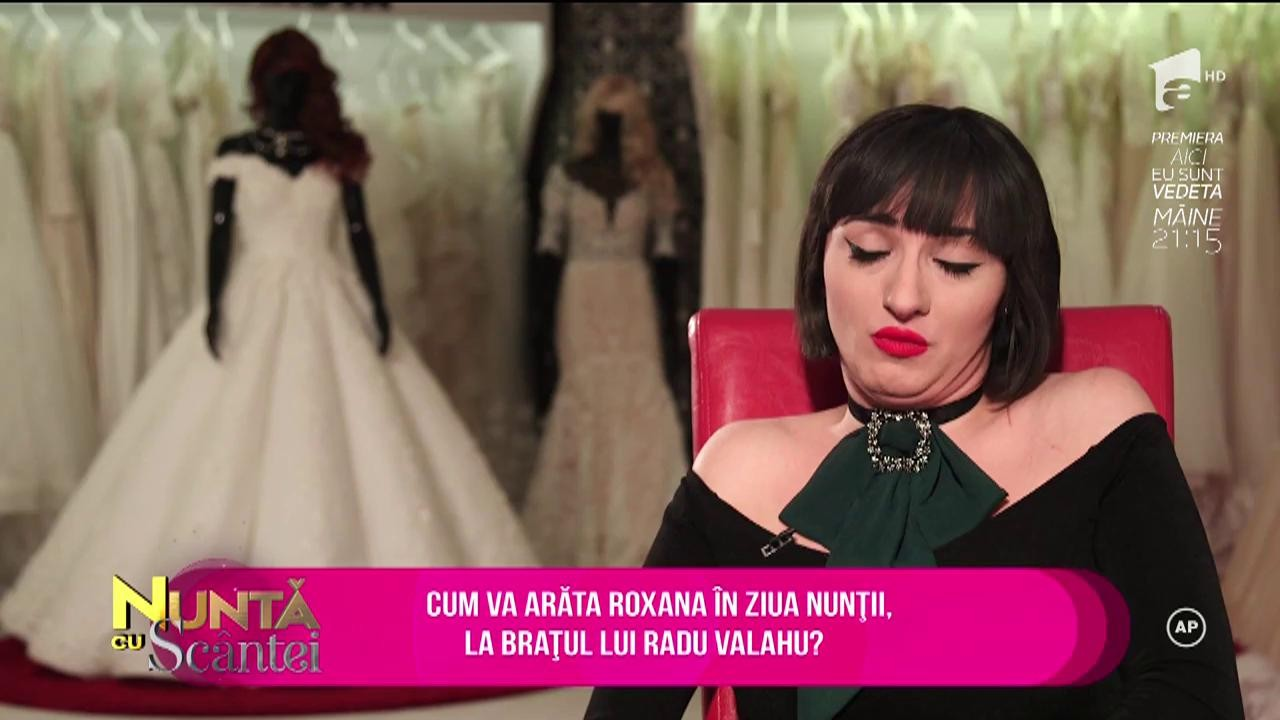 Nuntă cu Scântei. Vezi aici cum arată rochia de mireasă a Roxanei Avram, superba logodnică a lui Radu Valahu!