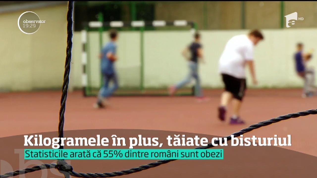 Greu în România. Copiii grăsuți de azi, adulții obezi de mâine. Pentru unii dintre ei, situaţia e atât de gravă, încât singura soluţie rămâne bisturiul