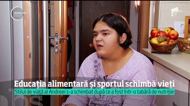 Greu în România. Educaţia alimentară şi sportul schimbă vieţi