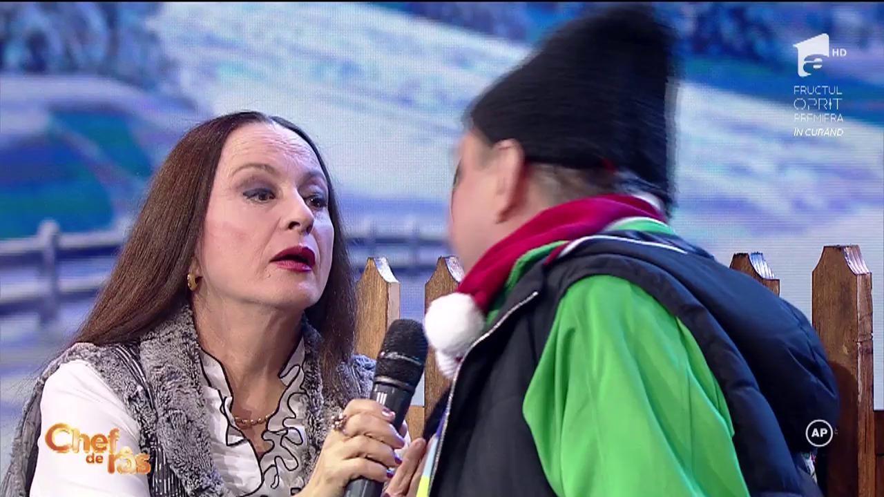 """Ai CHEF DE RÂS? """"Ce-i al meu e al meu, ce-i al lui e tot al meu!"""" Maria Dragomiroiu, reporter special pentru emisiunea """"La români în bătătură"""""""