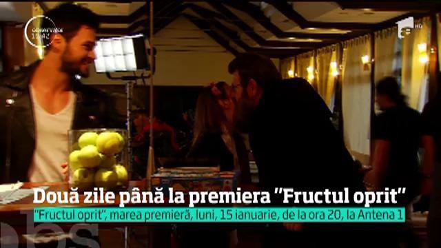 """Au mai rămas doar două zile pâna la marea premieră a serialului """"Fructul oprit"""" de la Antena 1!"""