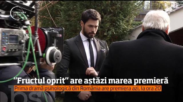 """""""Fructul oprit"""", prima dramă psihologică din România. """"Poți iubi doi oameni odată?"""" este întrebarea care își caută răspunsul, din această seară, la Antena 1"""