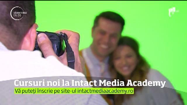 Intact Media Academy continuă înscrierile pentru prima serie din acest an la cursurile de Prezentator şi Reporter TV