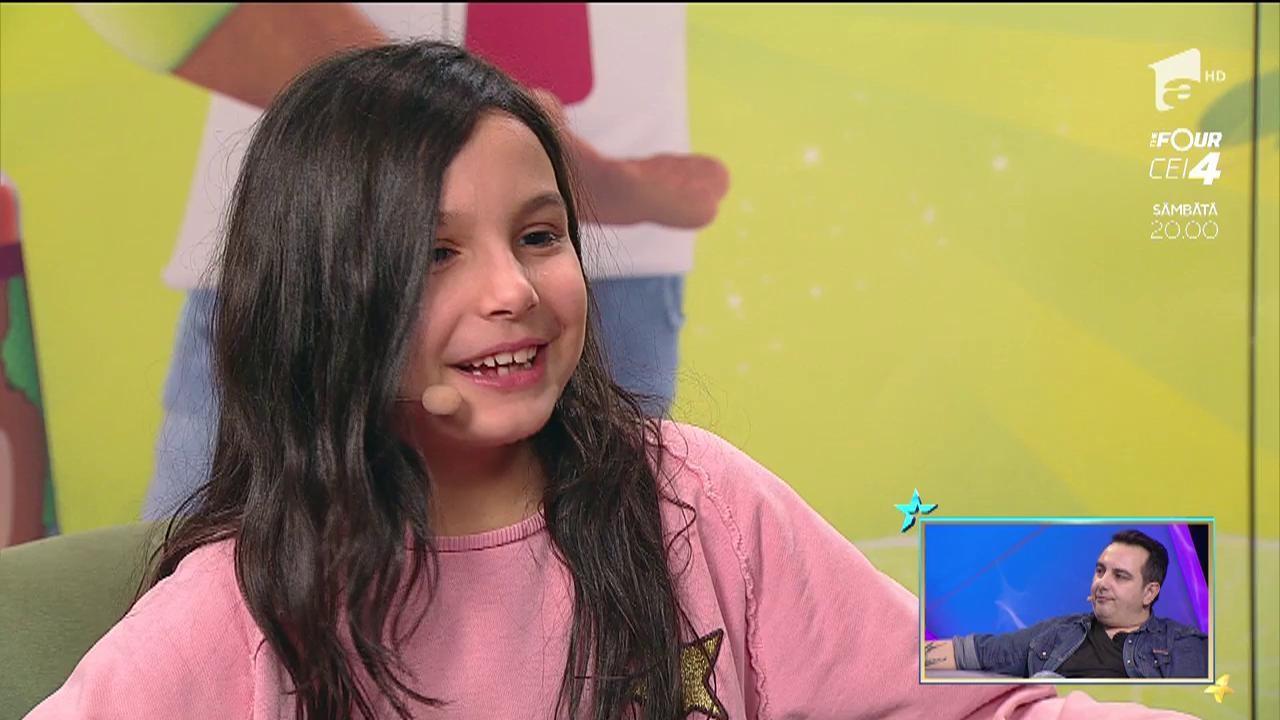 Fetiţa lui Silviu Andrei tremură de frică când își vede tatăl că își dă ochii peste cap!  DJ-ul o face la supărare sau din amuzament, dar micuța Natalia e terifiată!