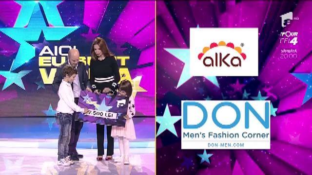 Cristina Spătar şi copii săi au câştigat 7500 de RON la runda finală!