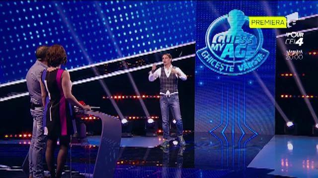 """Simona și Angelo vor să cumpere un pian cu banii de la """"Guess My Age - Ghicește vârsta"""""""